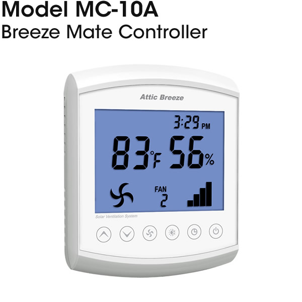MC-10A Breeze Mate solar attic fan controller