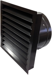 WM series gable fan