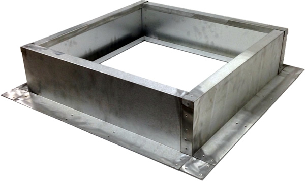 AB-002 roof curb for TPO/Flat roofs