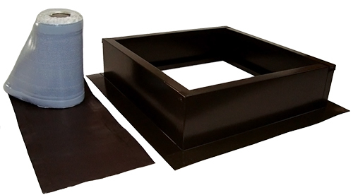 AB-004-BRN roof curb kit in bronze brown finish