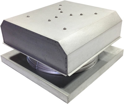 AB-3042D-CST solar attic fan in custom finish