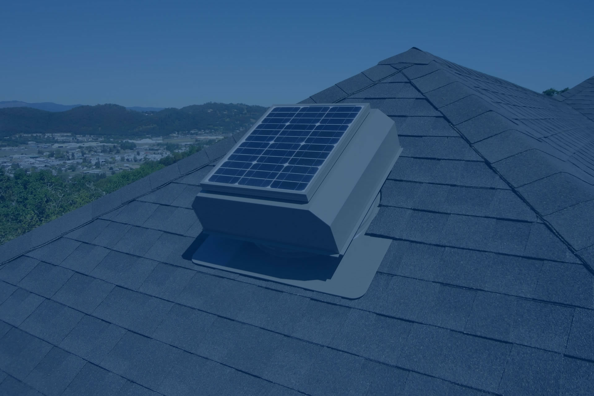 A solar attic vent will effectively cool your attic and save you money on summer cooling bills.