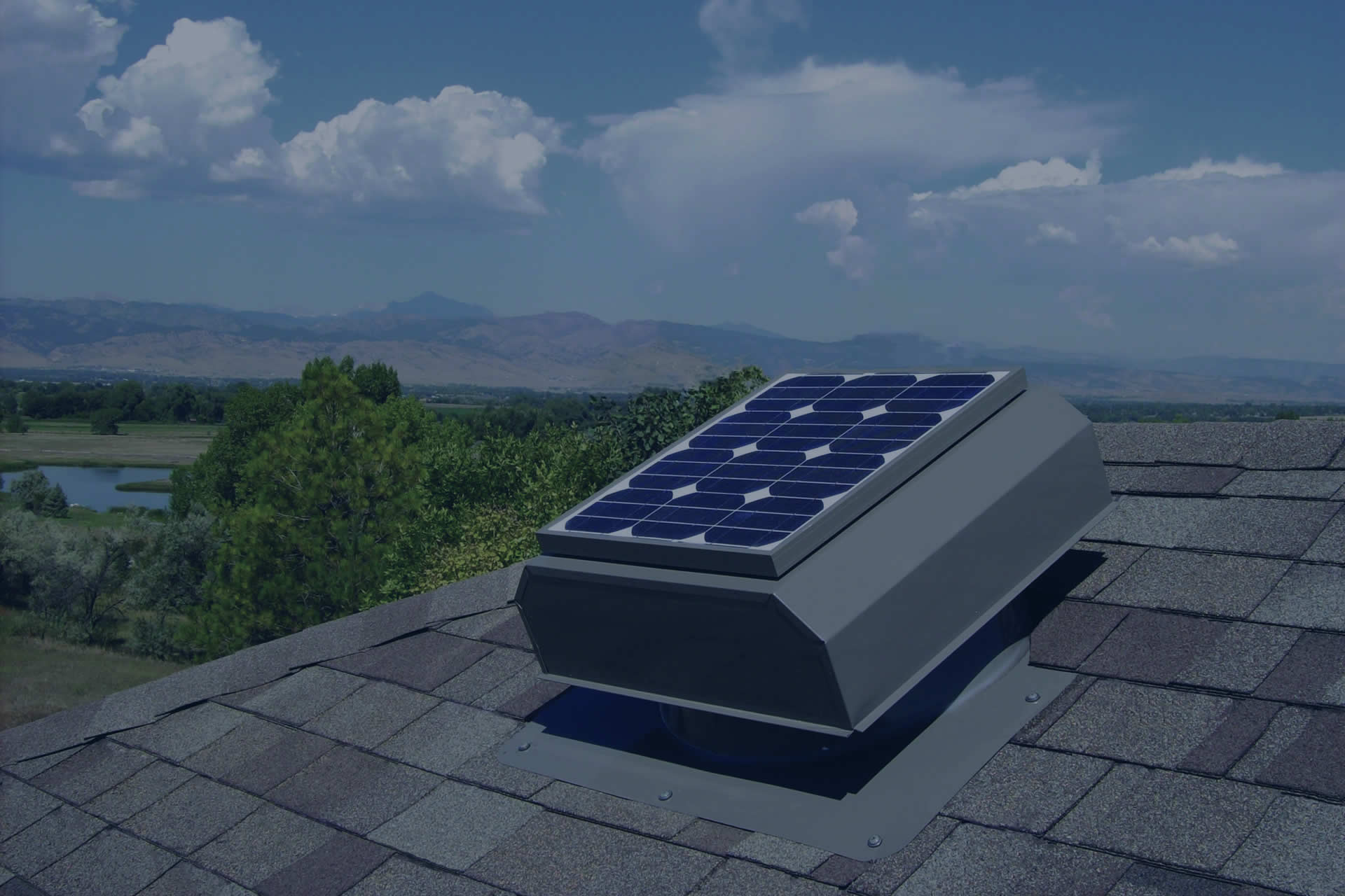 An Attic Breeze solar attic fan has the highest performance of any solar powered exhaust fan on the market.
